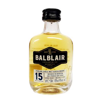 Balblair 15yr Old Whisky Miniature