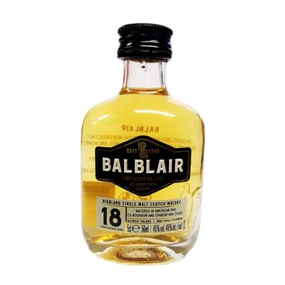 Balblair 18yr Old Whisky Miniature