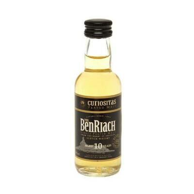Benriach Curiositas 10yr Old Whisky Miniature