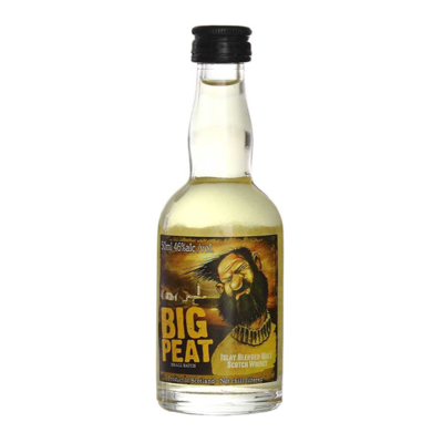 Big Peat Islay Blended Whisky Miniature