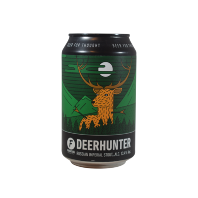 Frontaal Deerhunter Russian Imperial Stout