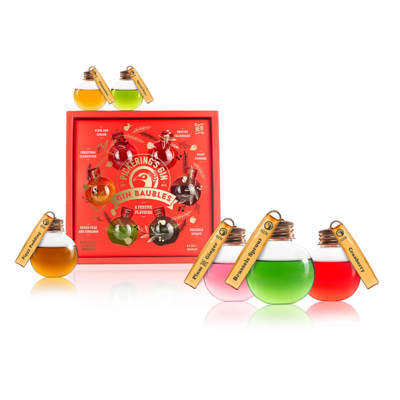 Pickering's Gin Baubles 6 Pack