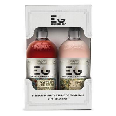 Edinburgh Gin 2 x 200ml Liqueur Pack