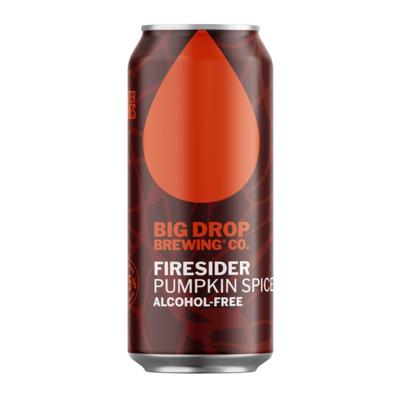 Big Drop Firesider Alcohol Free Pumpkin Spiced Ale