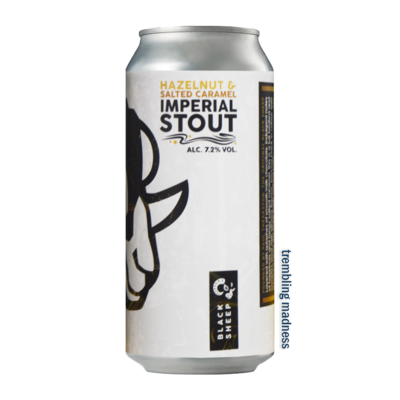 Black Sheep Hazelnut & Salted Caramel Imperial Stout