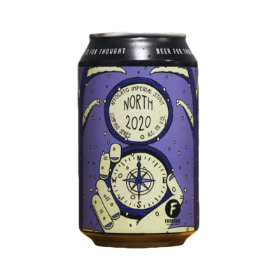 Frontaal North 2020 Affogato Imperial Stout