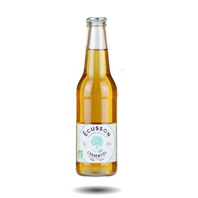 Ecusson L'Essentiel Brut Bio Cidre 330ml