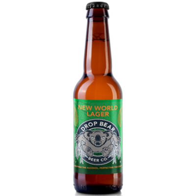 Drop Bear New World Lager Alcohol Free