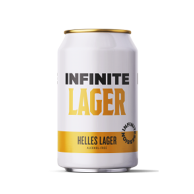 Infinite Lager Alcohol Free Helles Lager