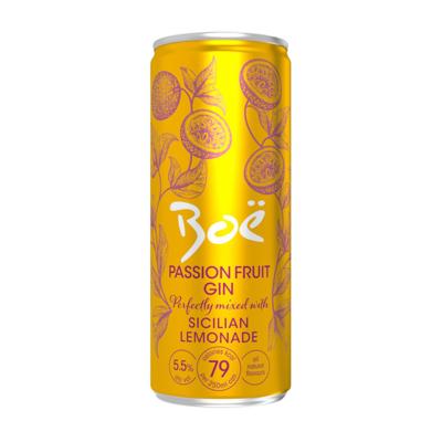 Boe Passion Fruit Gin & Sicillian Lemonade