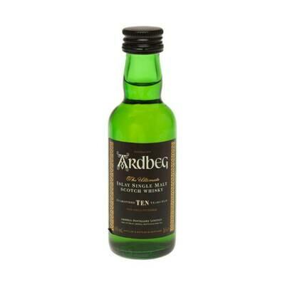 Ardbeg 10yr Old Whisky Miniature