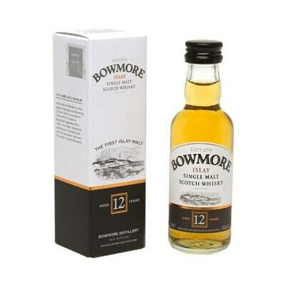 Bowmore 12yr Old Whisky Miniature