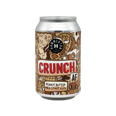 Hammerton Crunch Alcohol Free Peanut Butter Stout