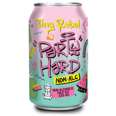 Tiny Rebel Party Hard Non Alcoholic Pale Ale