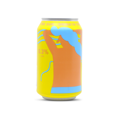 Mikkeller Drink'in The Sun Non Alcoholic Wheat Ale Can