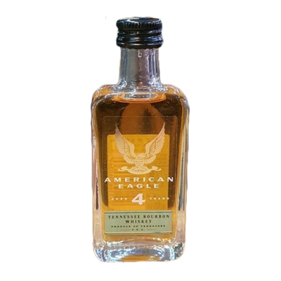 American Eagle 4yr Old Bourbon Miniature