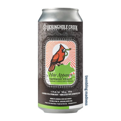 Lickinghole Creek Heir Apparent Imperial Stout