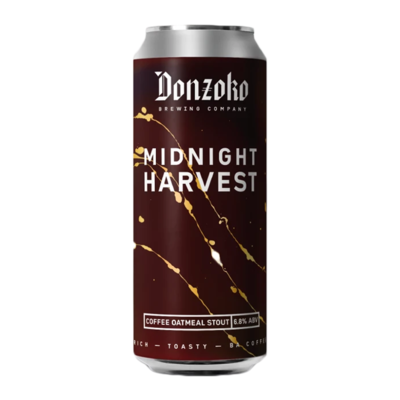 Donzoko Midnight Harvest Coffee Oatmeal Stout