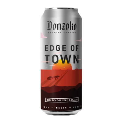 Donzoko Edge of Town Old School IPA