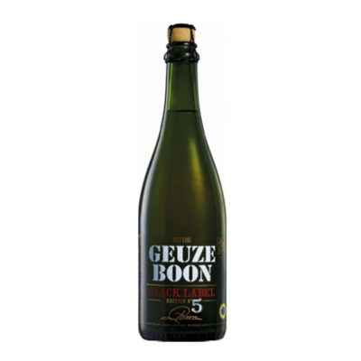 Boon Geuze Black Label 5th Edition Lambic