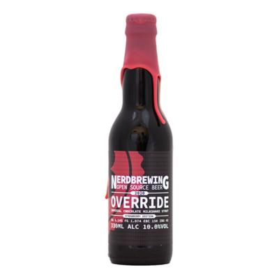 Nerdbrewing Override Strawberry Edition Impy Milkshake Stout
