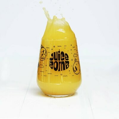 Juice Bomb Craft Beer Glass