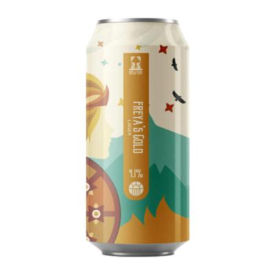 Brew York Freya's Gold Lager