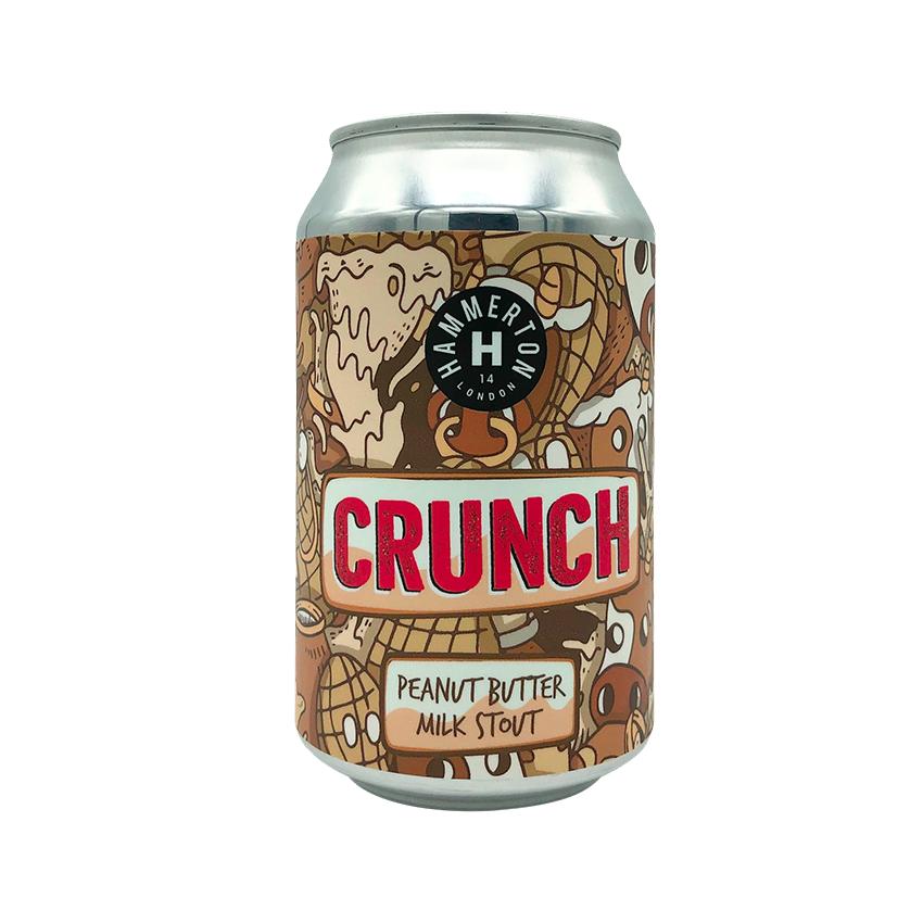 Hammerton Crunch Peanut Butter Milk Stout
