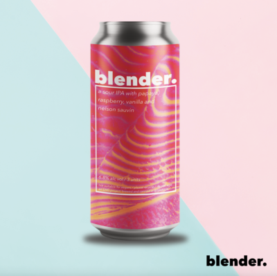Left Handed Giant Blender. Fruited Sour IPA