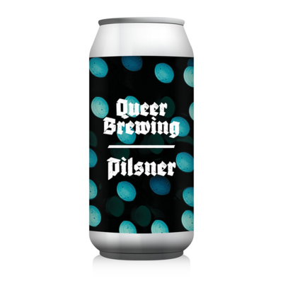 Queer Brewing Tiny Dots Pilsner