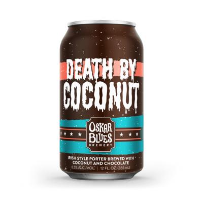 Oskar Blues Death By Coconut Irish Porter