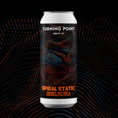 Turning Point Spiral Static Peanut Butter & Marshmallow Impy Stout