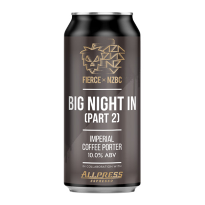 Fierce x NZBC Big Night In Part 2 Imperial Coffee Porter