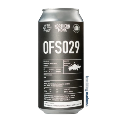 Northern Monk OFS029 Russian Imperial Stout