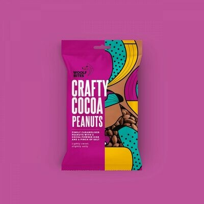 Woolf Bites Crafty Cocoa Peanuts