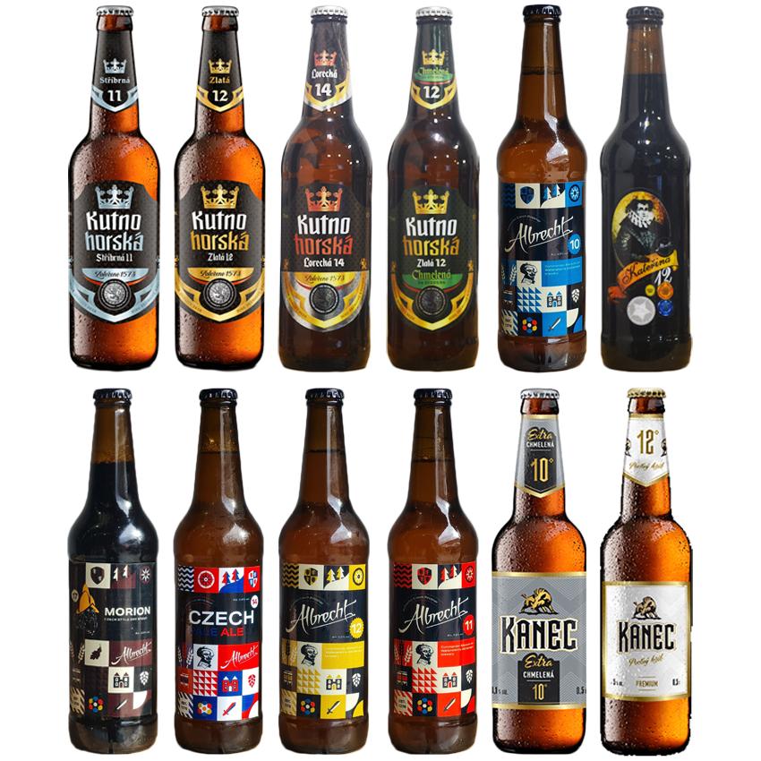 Czech Republic Mixed Beer 12 Pack