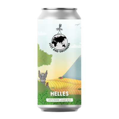 Lost & Grounded Helles Unfiltered Lager