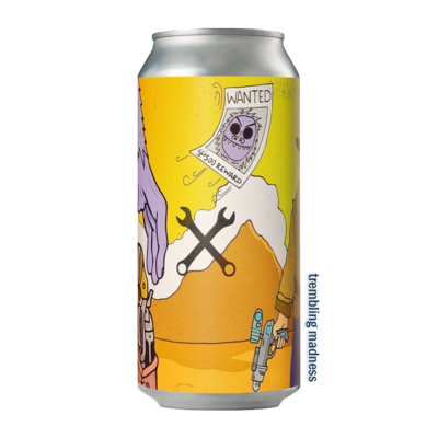 De Moersleutel Intergalactic Bounty Hunter Imperial Stout