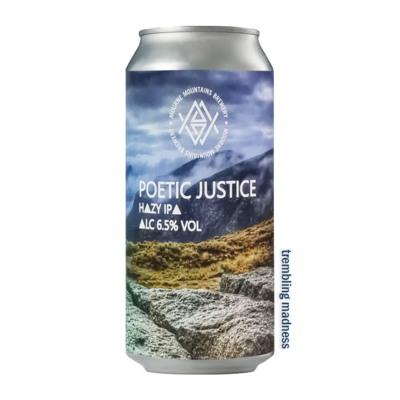Mourne Mountains Poetic Justice Hazy IPA