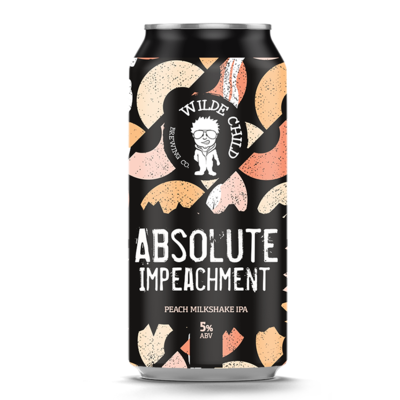 Wilde Child Absolute Impeachment Peach Milkshake IPA