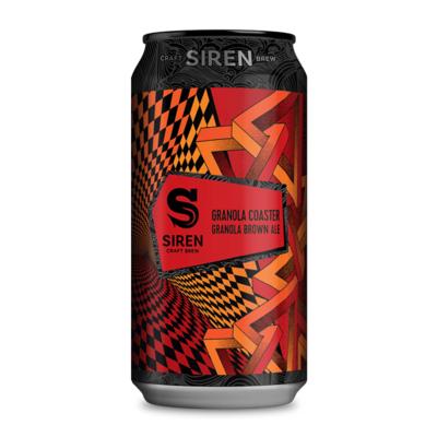 Siren Granola Coaster Granola Brown Ale