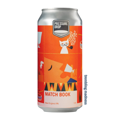 Pressure Drop Match Book NE IPA