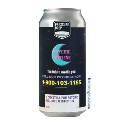 Pressure Drop 7 Crystals For Psychic Abilities & Intuition DIPA