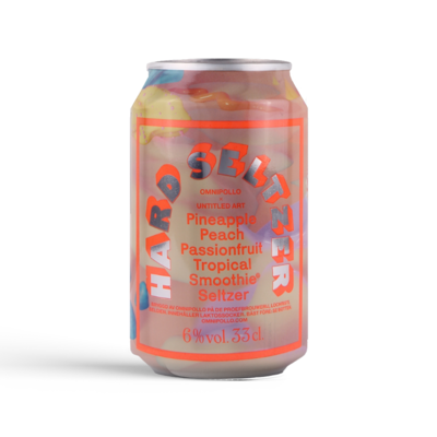 Omnipollo x Untitled Arts Tropical Smoothie Hard Seltzer