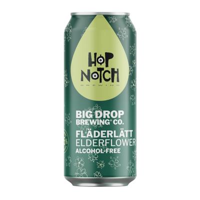 Big Drop x Hop Notch Fladerlatt Alcohol Free Elderflower IPA