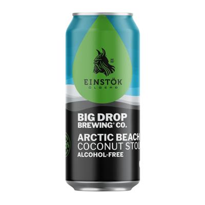 Big Drop x Einstok Arctic Beach Alcohol Free Coconut Stout