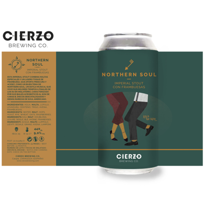 Cierzo Northern Soul Imperial Stout