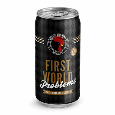 Roosters First World Problems Salted Caramel Stout