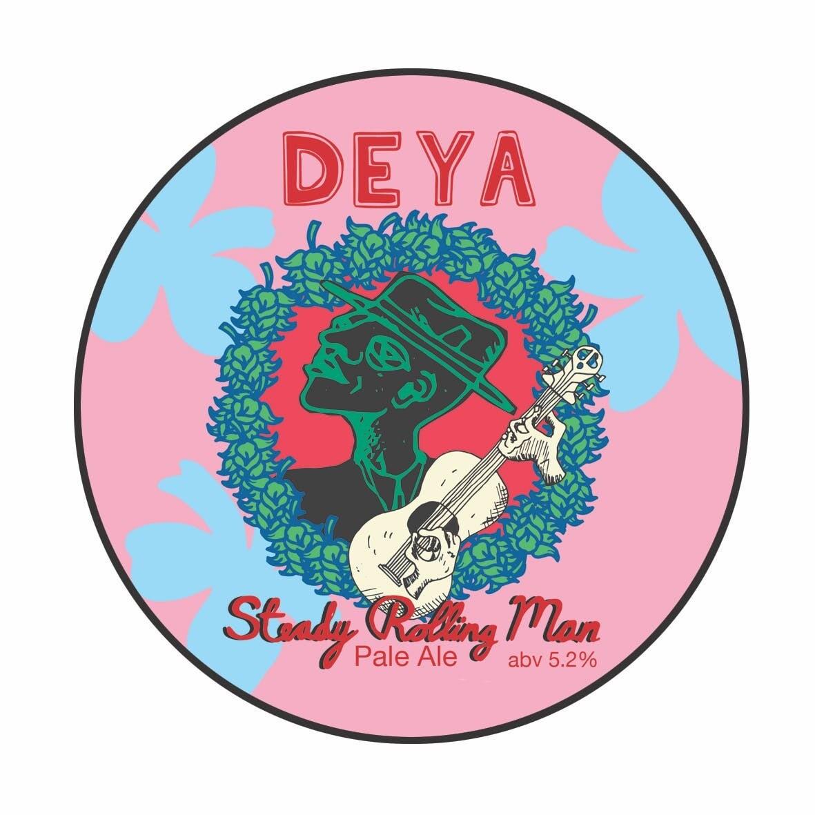 Deya Steady Rolling Man Pale Ale (1.5 or 4 Pints)