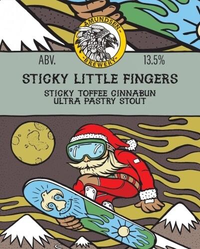 Amundsen Sticky Little Fingers Pastry Stout (1.5 or 4 Pints)